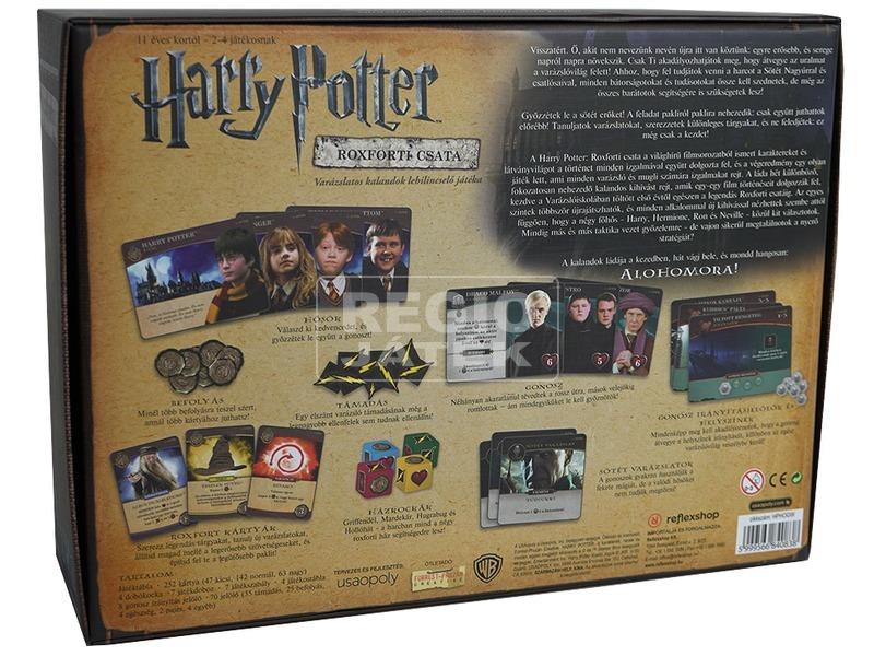 kép nagyítása Harry Potter: Roxforti Csata társasjáték