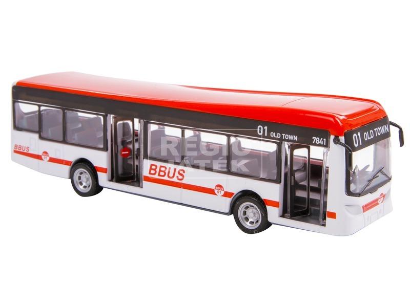 kép nagyítása Bburago City busz 1:43, 19 cm - többféle
