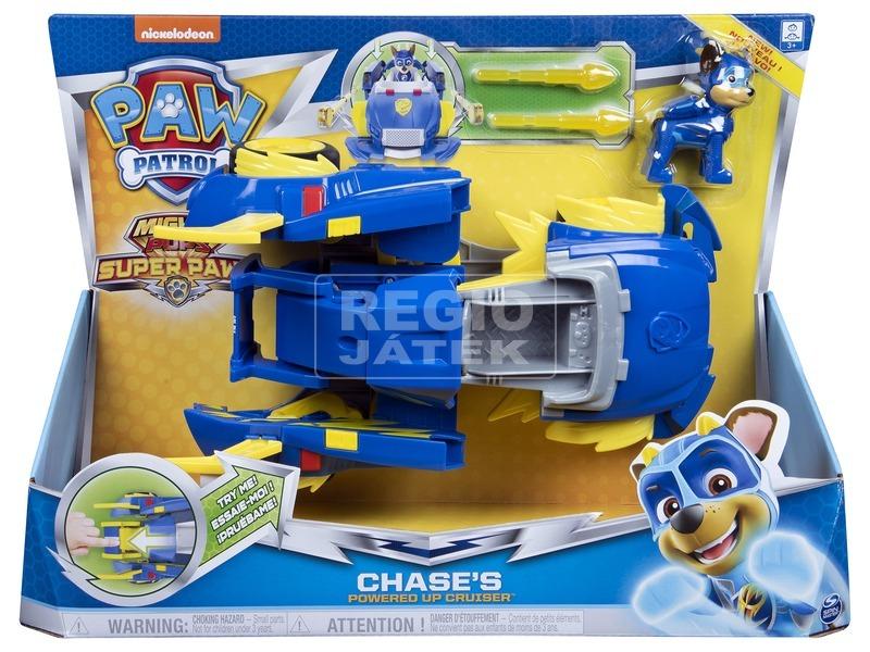 Mancs őrjárat Mighty pups -Chase átalakuló járműve
