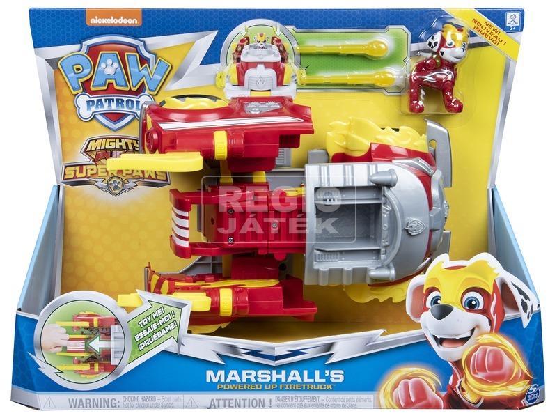 Mancs őrjárat Mighty pups - Marshall átalakuló járműve