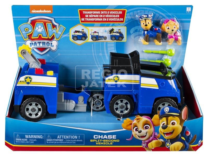 Mancs őrjárat átalakuló járművek- 2 az 1-ben Chase