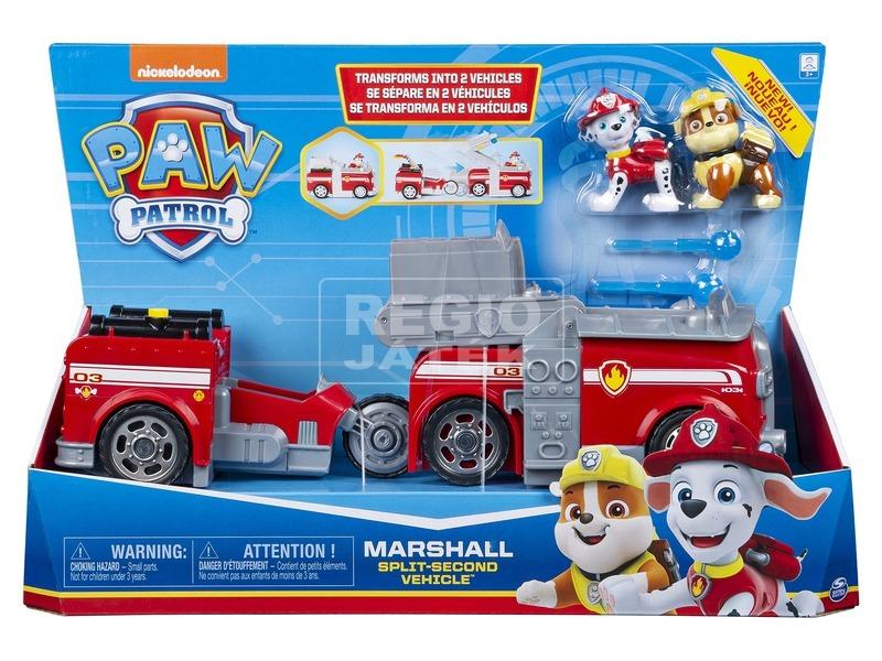 Mancs őrjárat átalakuló járműv- 2 az 1-ben Marshal