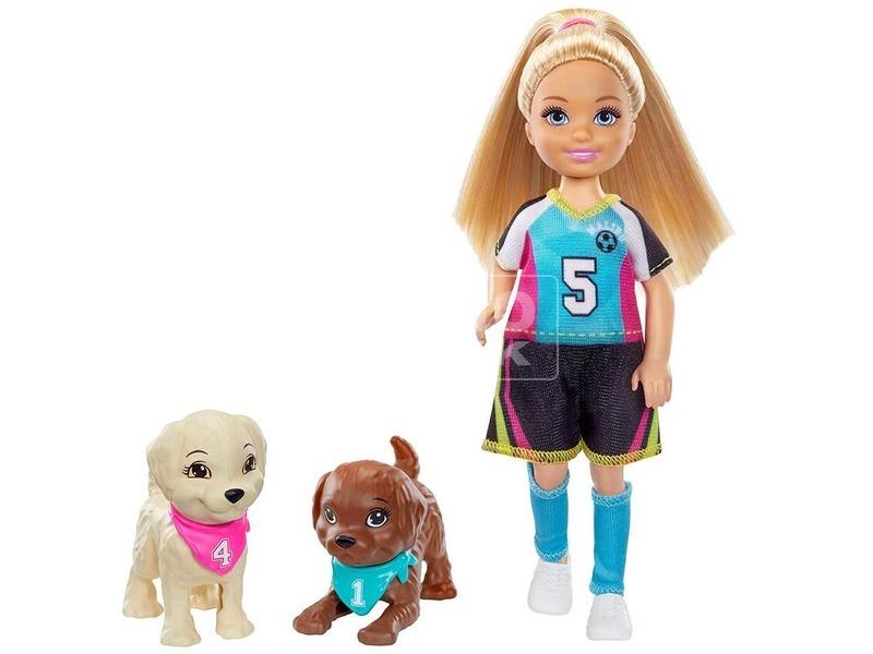 kép nagyítása Barbie Dreamhouse Adventures - Chelsea fociszett