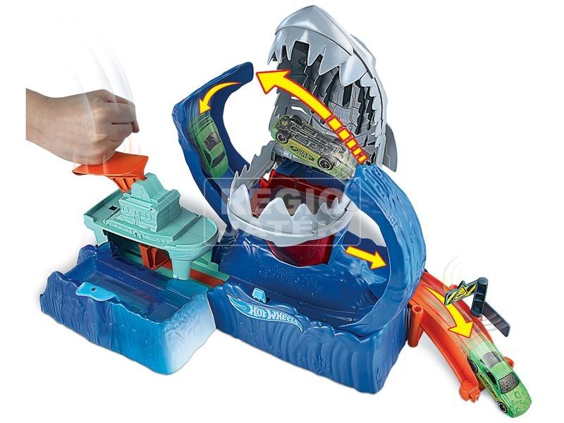 kép nagyítása Hot Wheels City Robotcápa játékszett