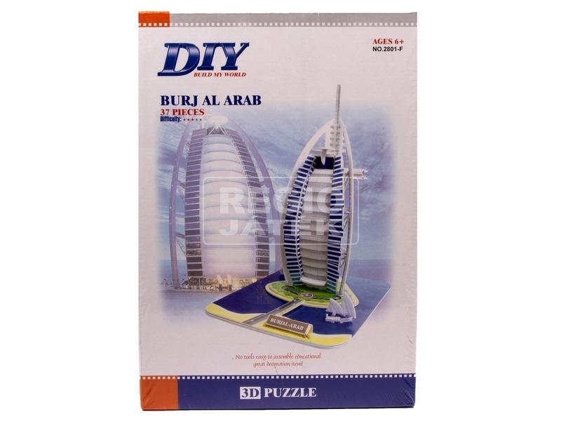 Burj Al Arab 37 darabos 3D puzzle