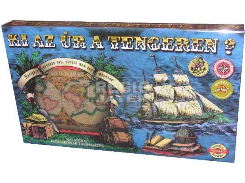 D-Toys: Ki az úr tengeren? kalandos kereskedelmi társasjáték