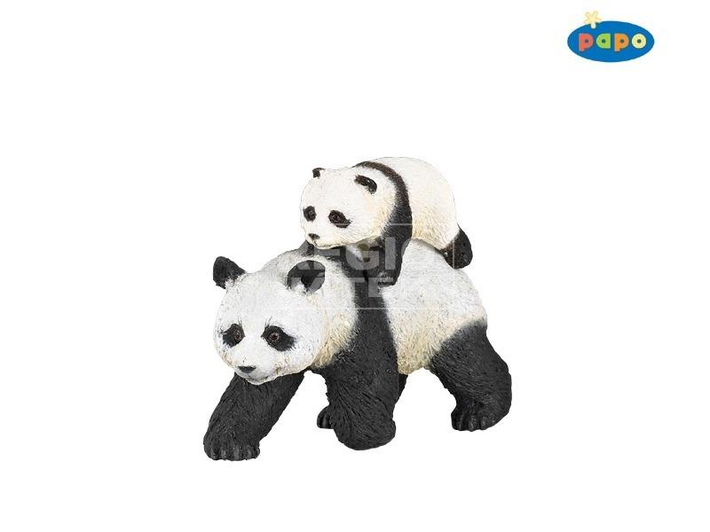 Papo panda és bocs figura