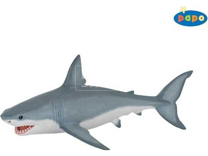 Papo fehér cápa 56002