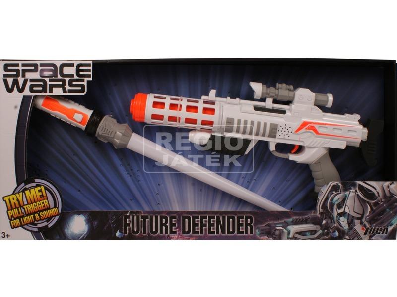 Space Wars lézerpuska és fénykard készlet