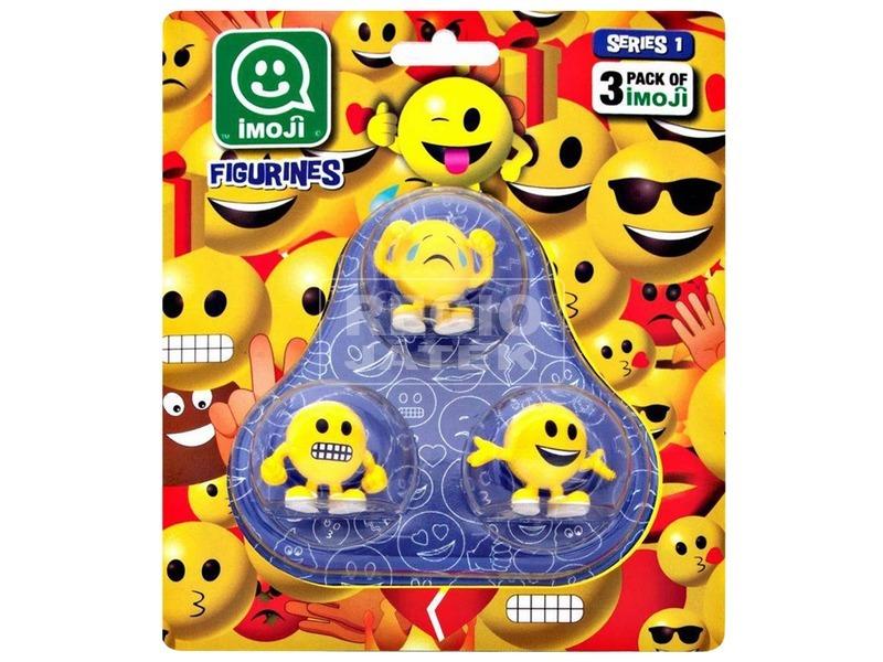 Imoji figura 3 darabos készlet - többféle