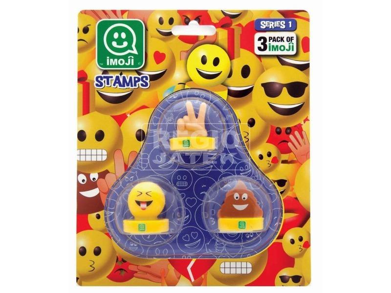 Imoji bélyegző 3 darabos készlet - többféle