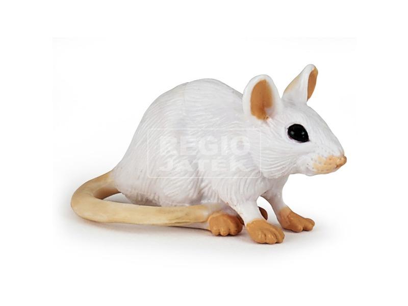 Papo fehér egér 50222