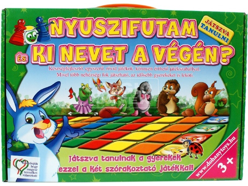 kép nagyítása Játszva tanulni társasjáték - többféle
