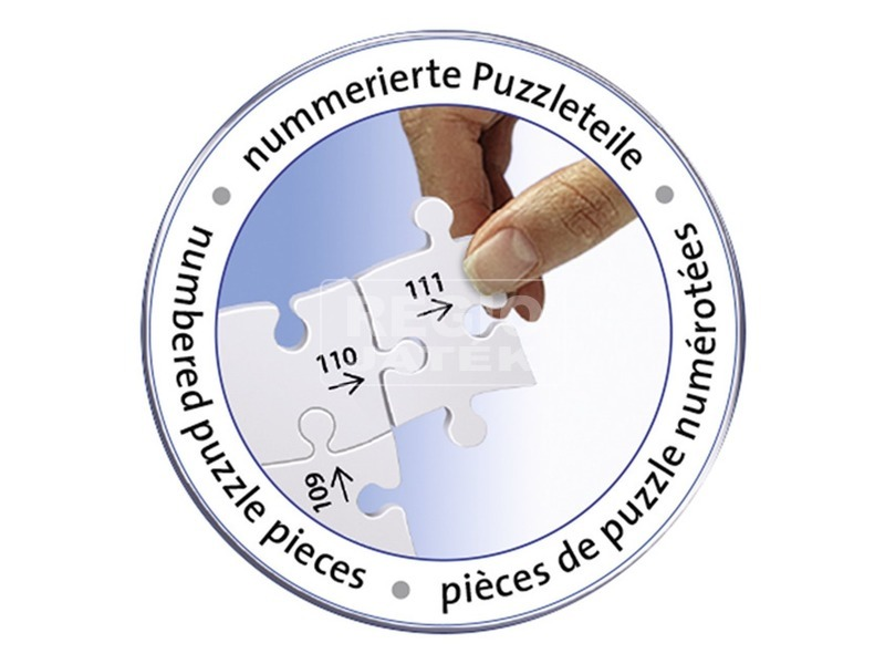 kép nagyítása Puzzle 3D 216 db - Neuschwanstein kastély