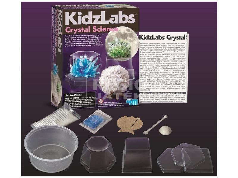 kép nagyítása 4M kristály növesztő tudományos készlet