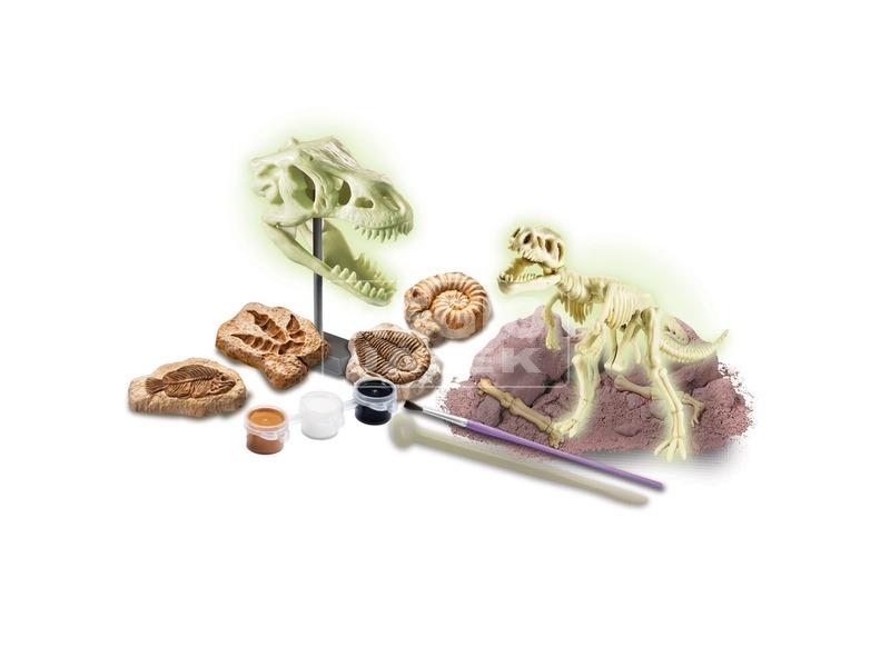 kép nagyítása 4M foszforeszkáló dínó és őskövület készlet