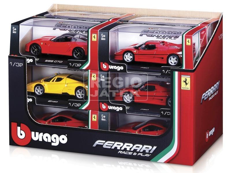 Bburago Ferrari autómodell - 1:32, többféle