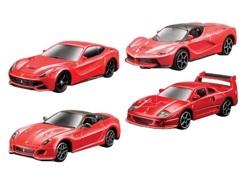 kép nagyítása Bburago Ferrari 1:64 szortiment