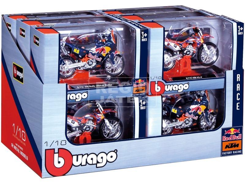 Bburago KTM Dakar rally motor - 1:18