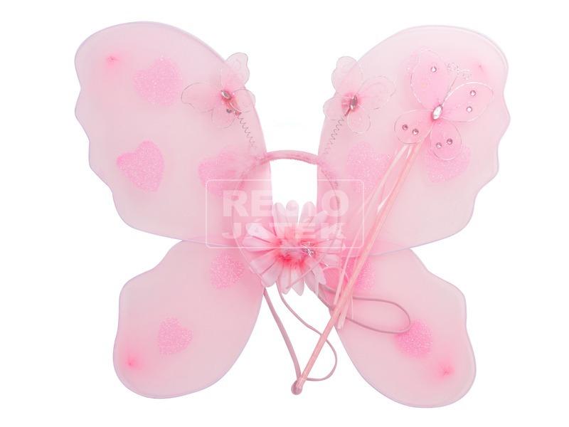 Pillangó készlet szárnnyal - 40 cm