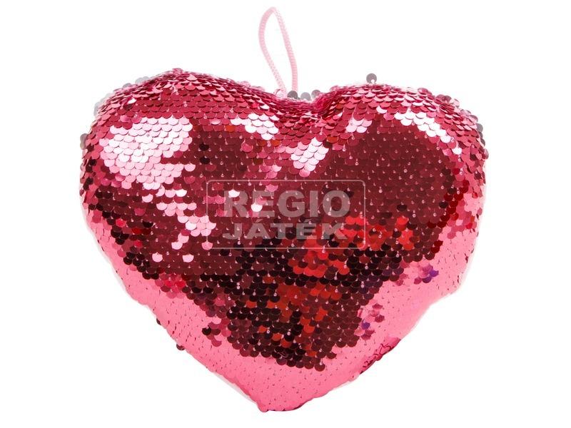 kép nagyítása Simogatós szív alakú párna, 3 szín