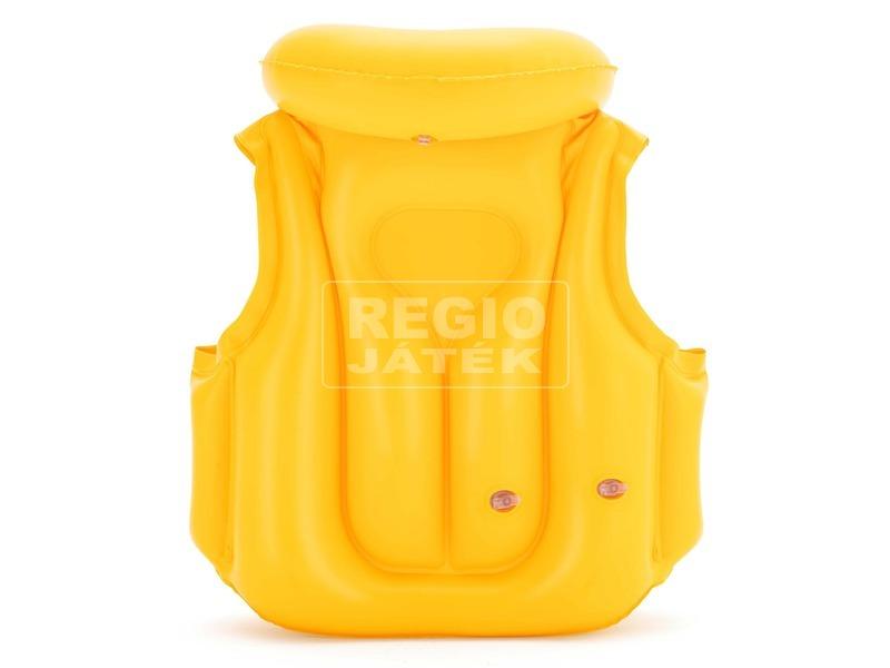 kép nagyítása Gyerek úszómellény - sárga, 51 x 46 cm