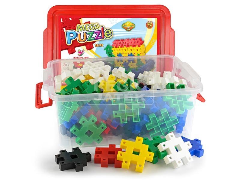kép nagyítása Mega Puzzle műanyag 72 darabos építőjáték