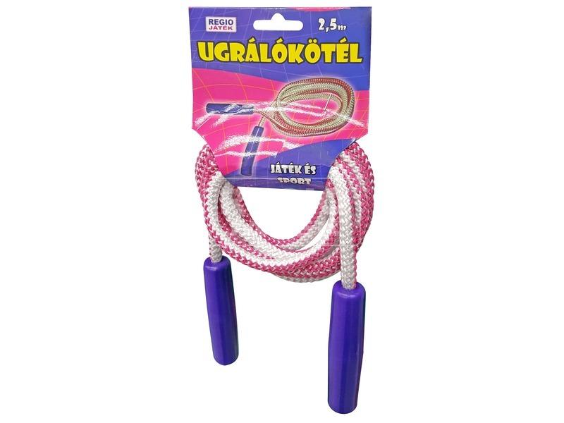 Színes ugráló kötél - 2, 5 m
