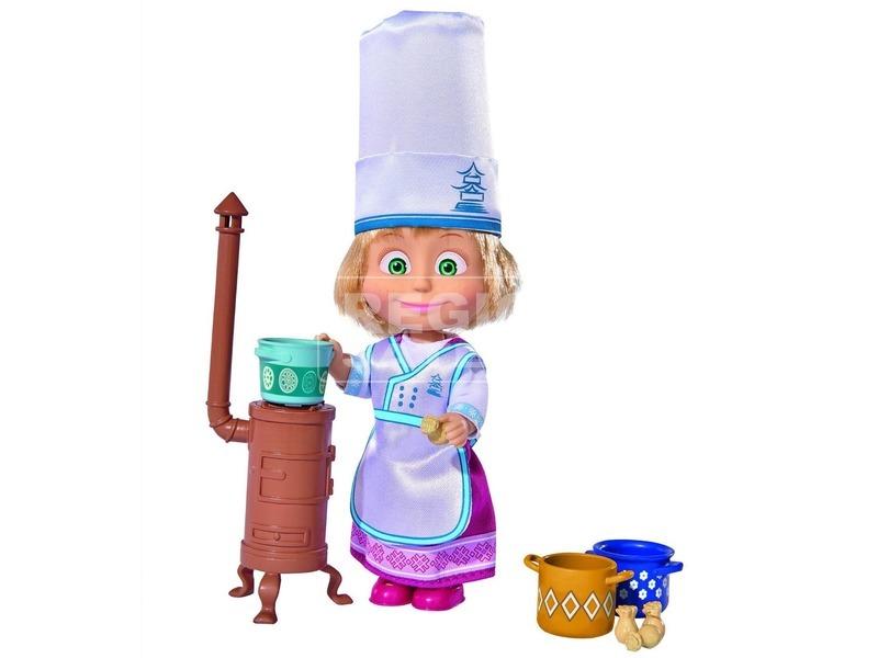 kép nagyítása Masha szakács készlet