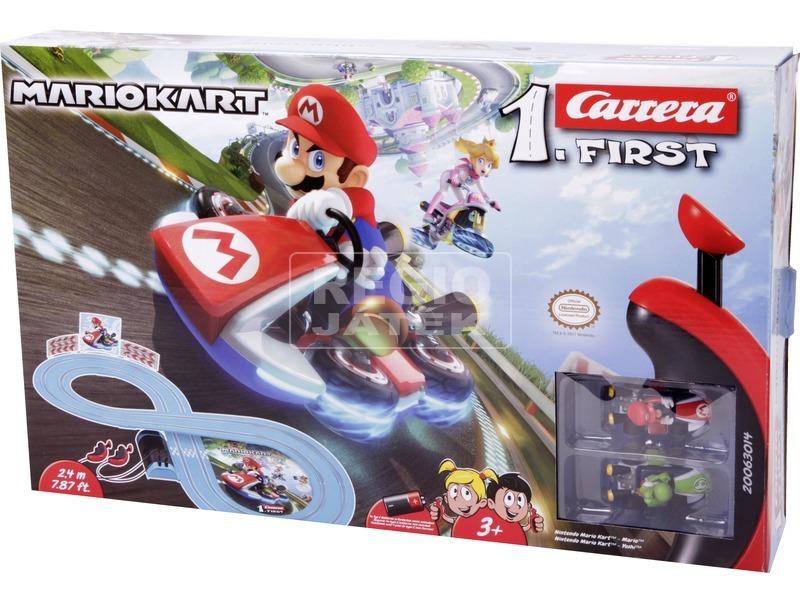 Carrera First Mario elemes versenypálya - 240 cm