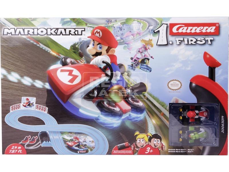 kép nagyítása Carrera First Mariokart versenypálya