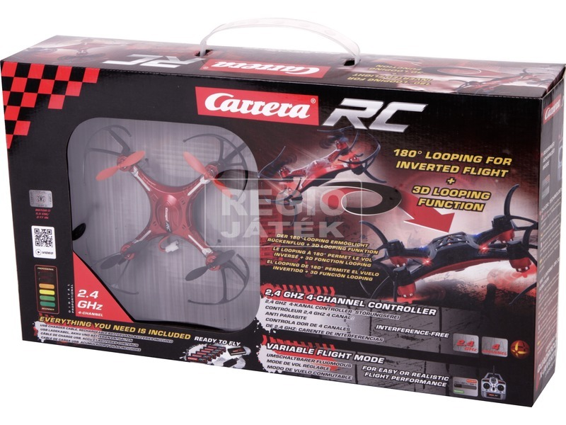 Carrera RC X-Inverter távirányítós quadrocopter