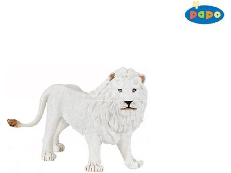 Papo fehér hím oroszlán 50074