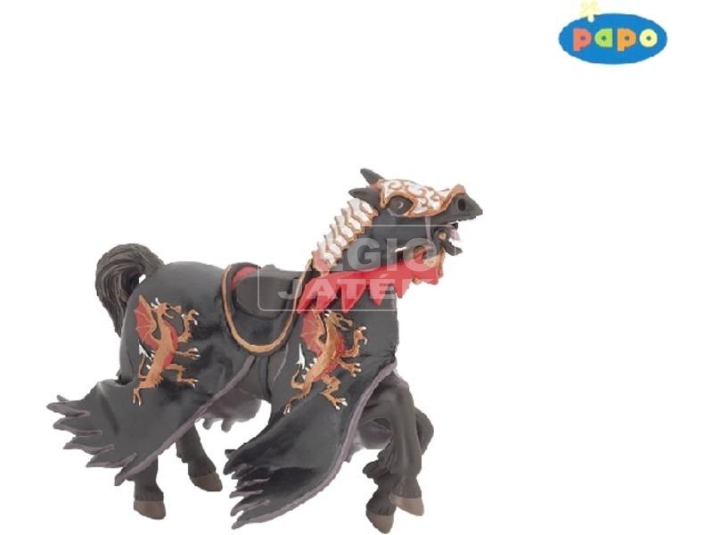 Papo árnyék lovag lova figura