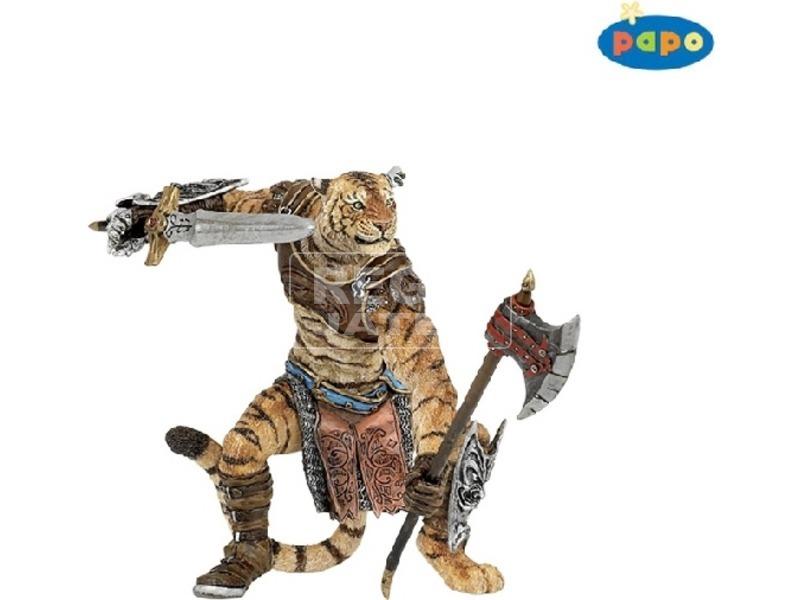 Papo Tigris harcos 38954