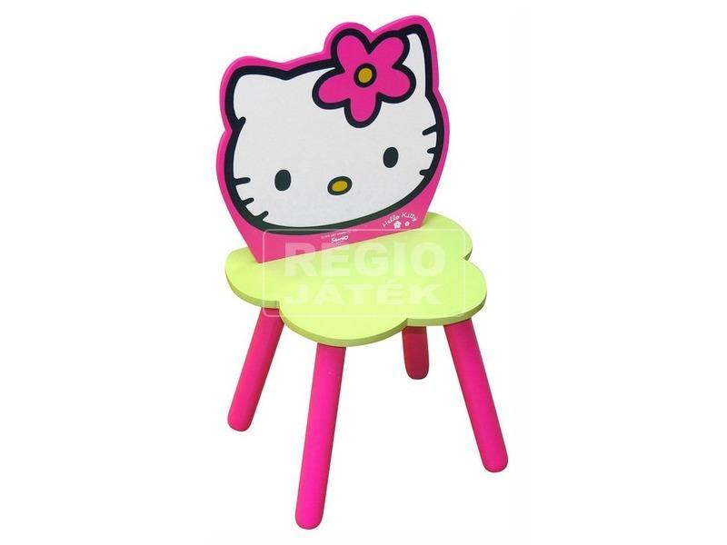 Hello Kitty virágos szék