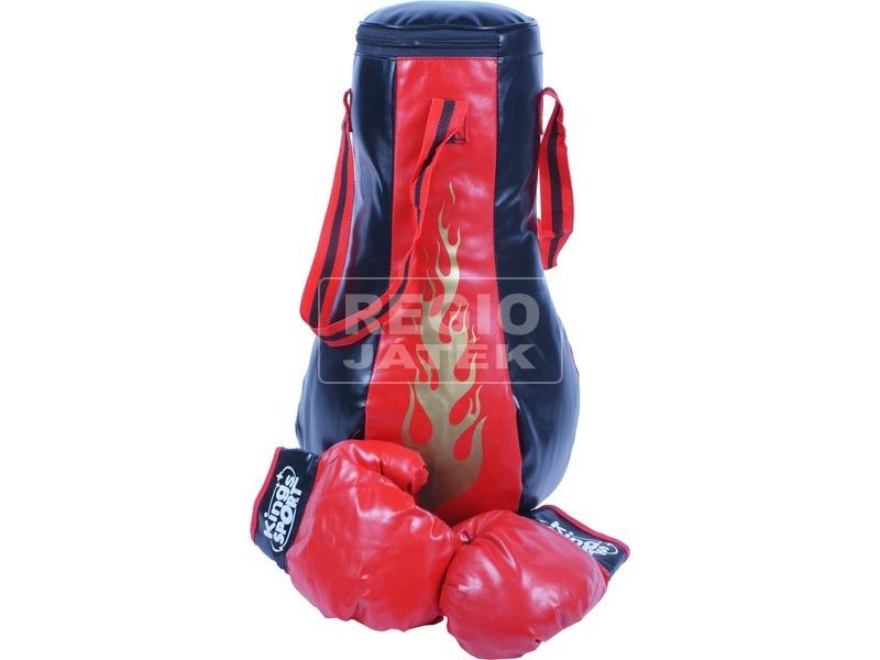 kép nagyítása Boxzsák kesztyűvel - piros-fekete