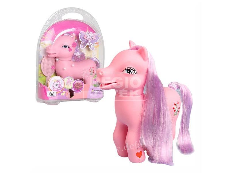 kép nagyítása Defa Lucy hangot adó póni - 24 cm, rózsaszín