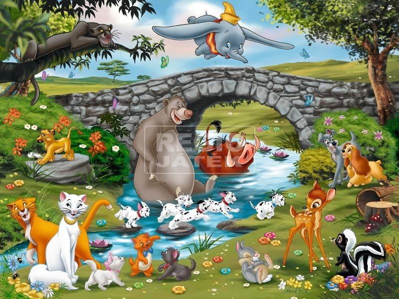 Disney barátok 100 darabos XXL puzzle