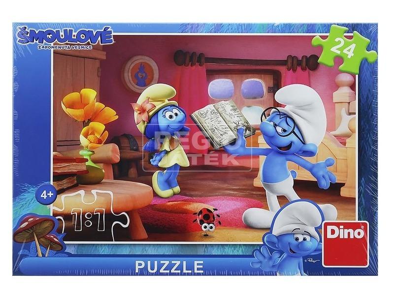 kép nagyítása Hupikék törpikék 3 - 24 darabos puzzle