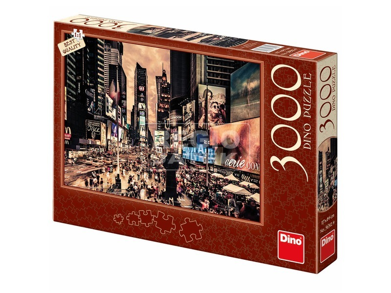 Times Square, New York 3000 darabos puzzle