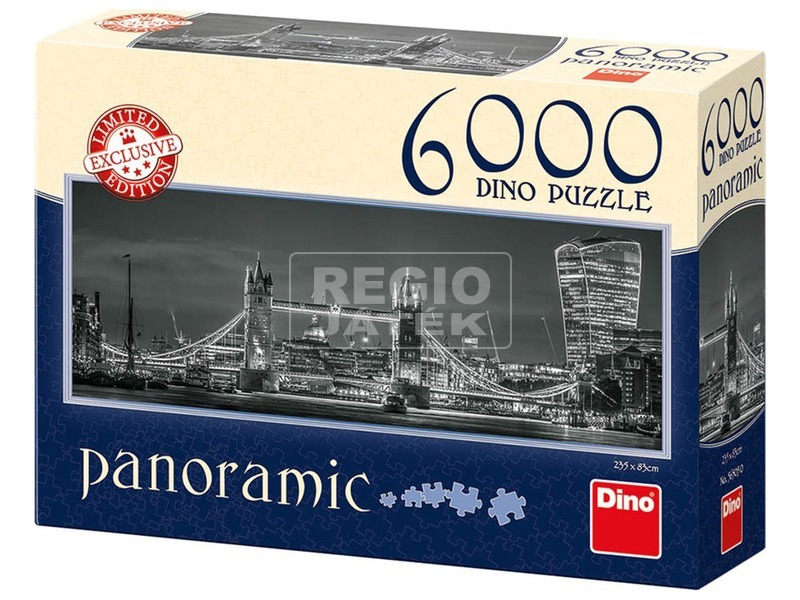 London 6000 darabos panoráma puzzle