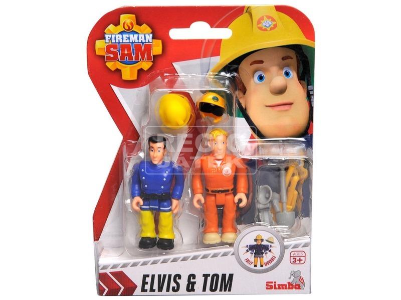 Sam a tűzoltó figura 2 darabos - 8 cm, többféle
