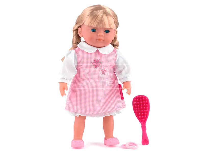 Charlotte fésülhető puha baba - 36 cm