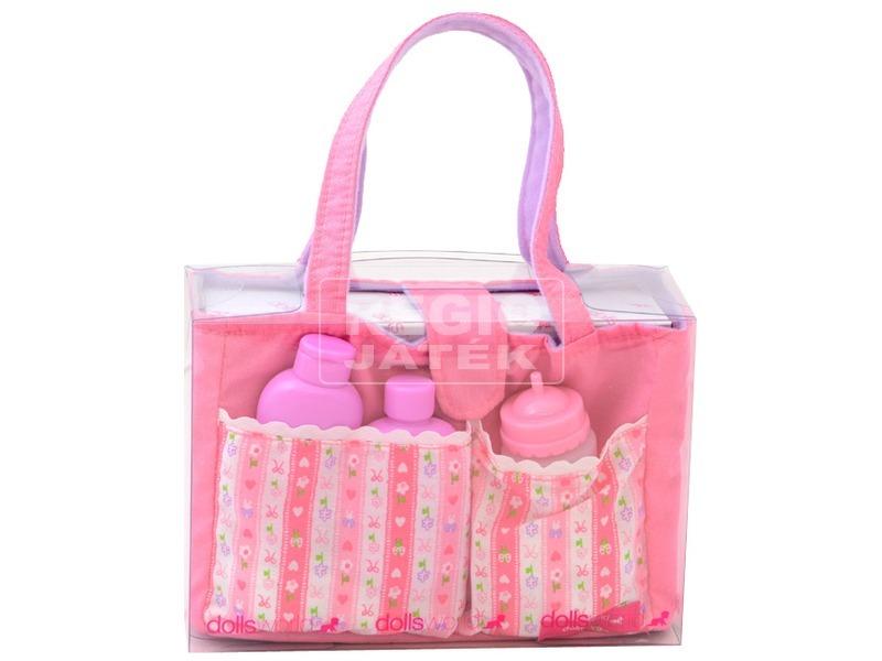 Babaápoló táska babafelszereléssel