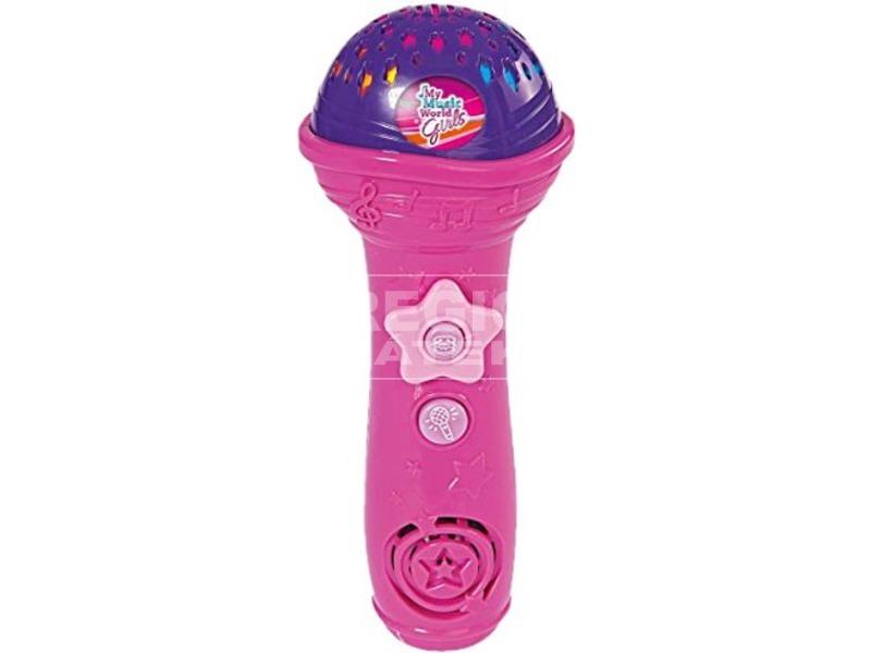 kép nagyítása Girls Shining zenélő mikrofon