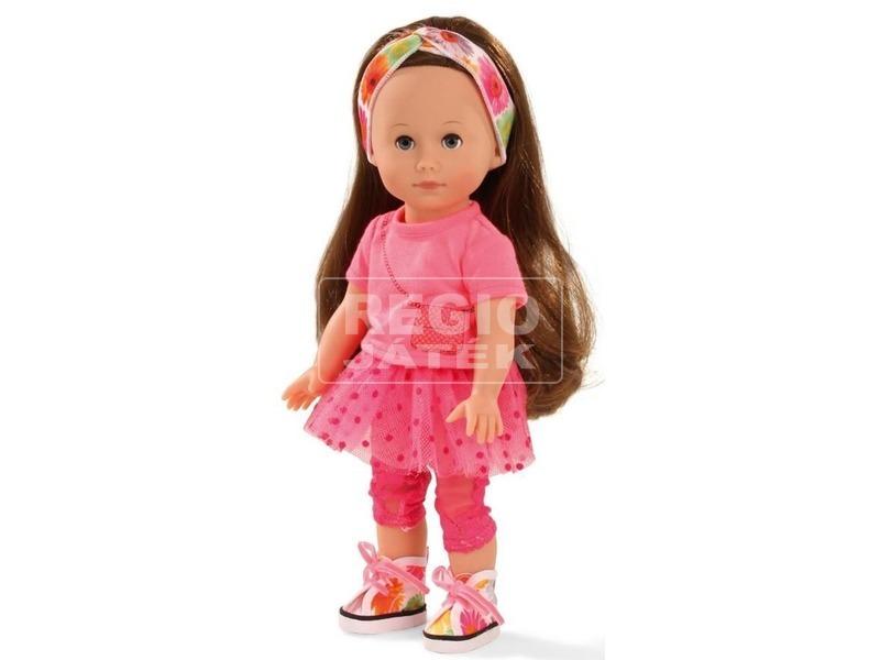 Götz: Chloe barna hajú baba - 27 cm