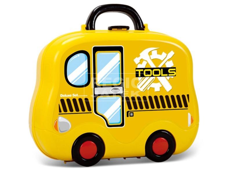 Barkács 29 darabos készlet bőröndben