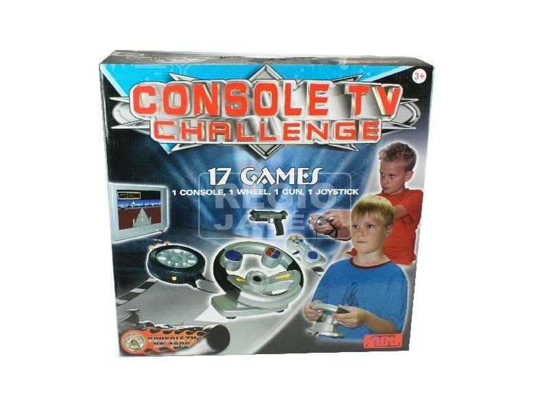 TV-re köthető konzol 17 játékkal
