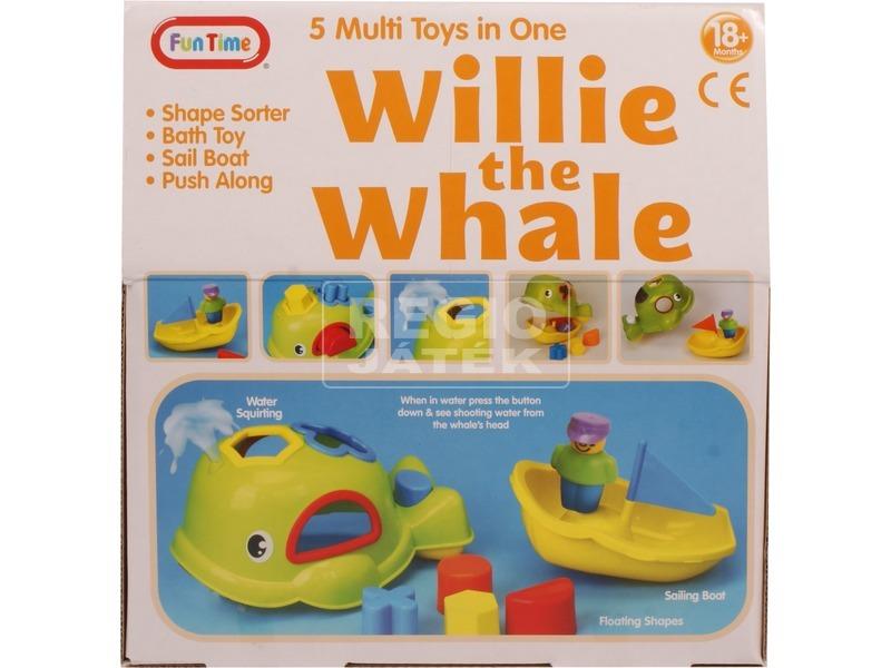 kép nagyítása Willie a bálna 5 az 1-ben bébijáték